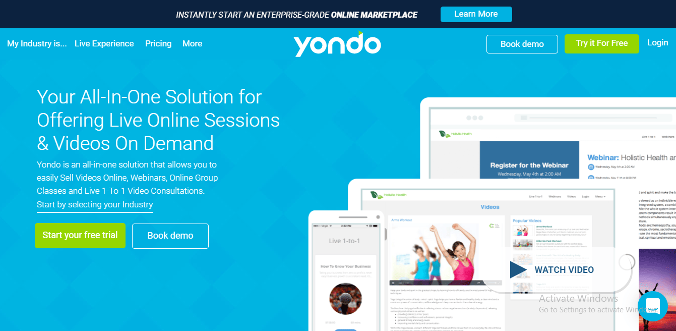 Yondo - A Productivity Tool