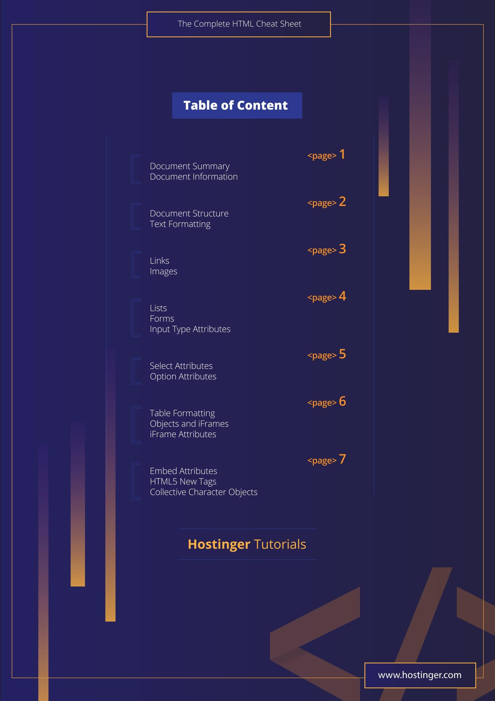Html sheet 2