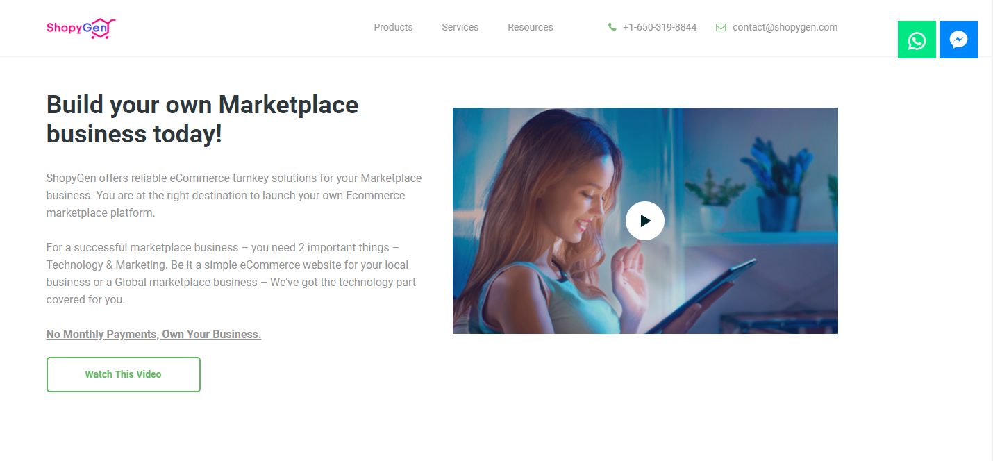 ShopyGen : A growth hacking tool