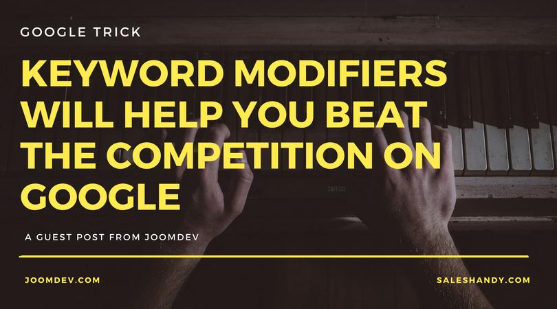 Keyword-modifiers