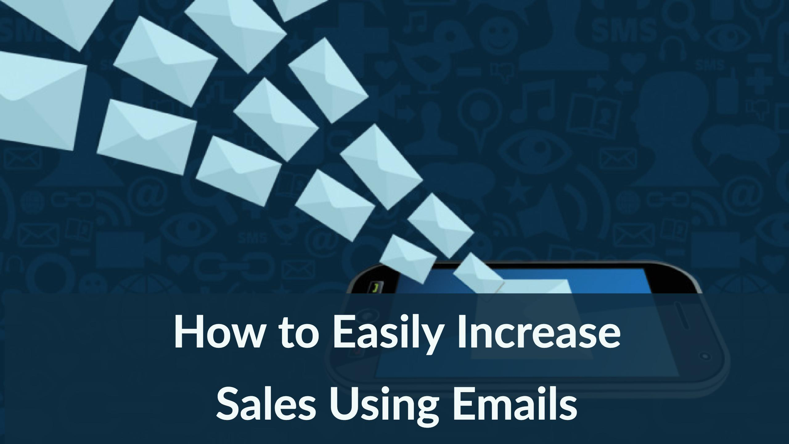 increase-sales-using-emails