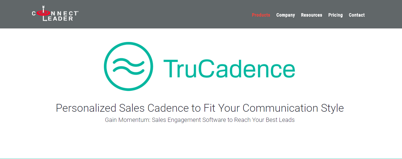 Trucadence cold emailing tool