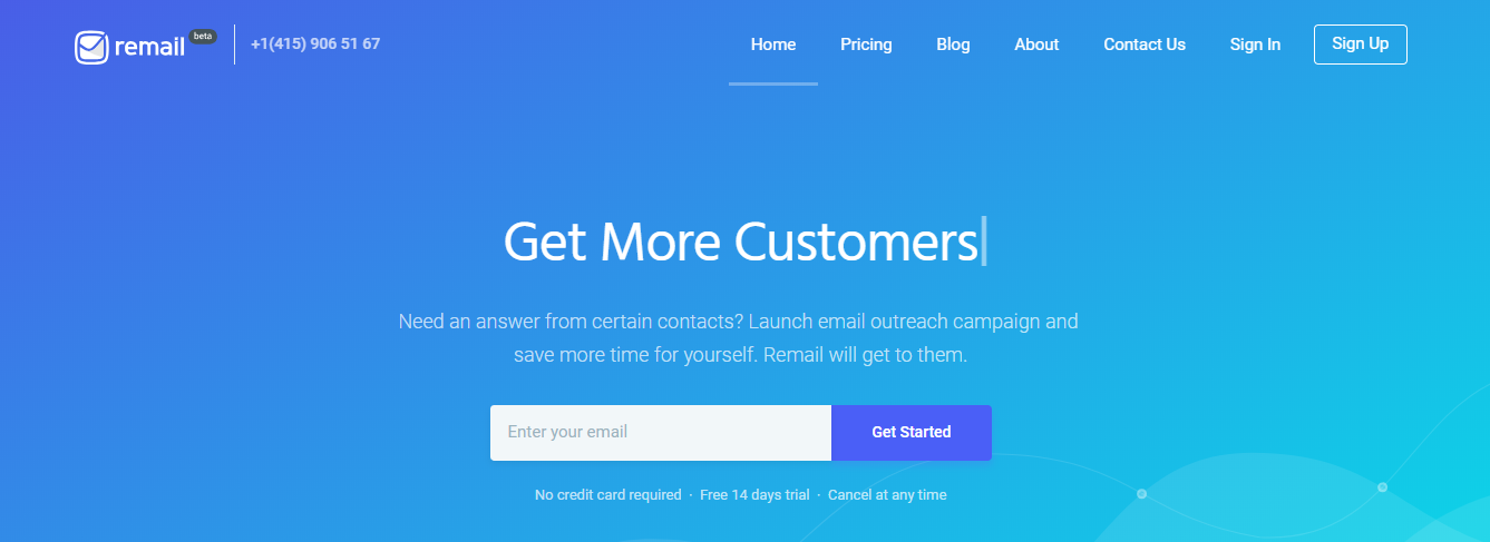 remail cold emailing tool