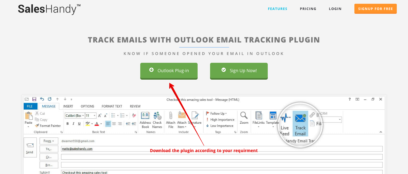 Outlook-Email-Tracking
