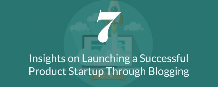 startup through blogging