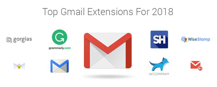 gmail extensions for 2018