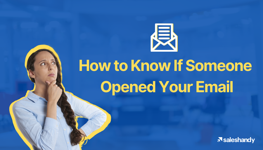 Know easily if someone opened your email