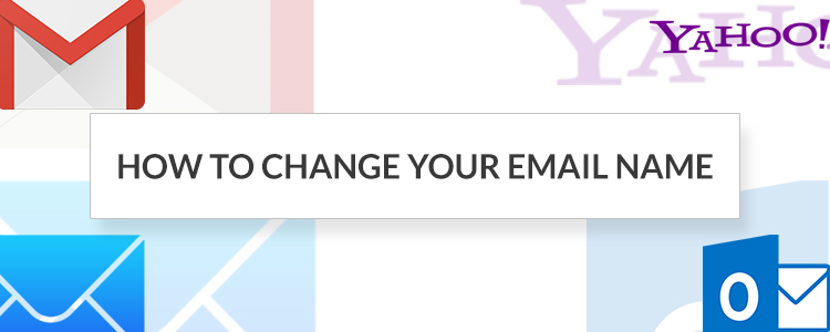 How to change your email name