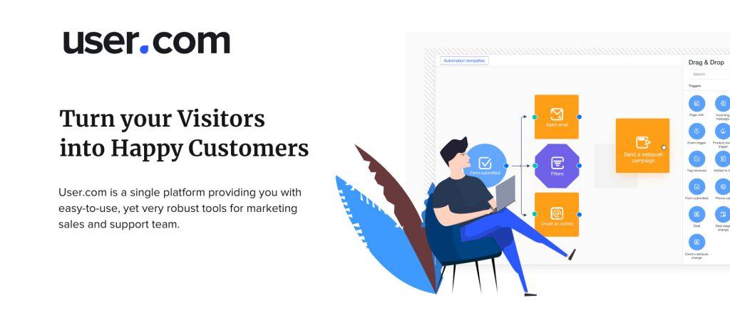 User : Marketing Automation Tool