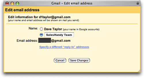 How to change your email name 1