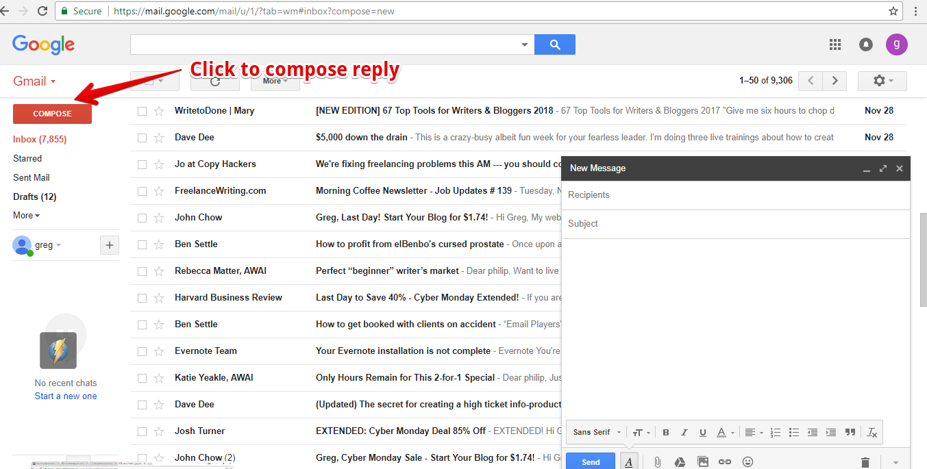 How to setup canned response in gmail 3