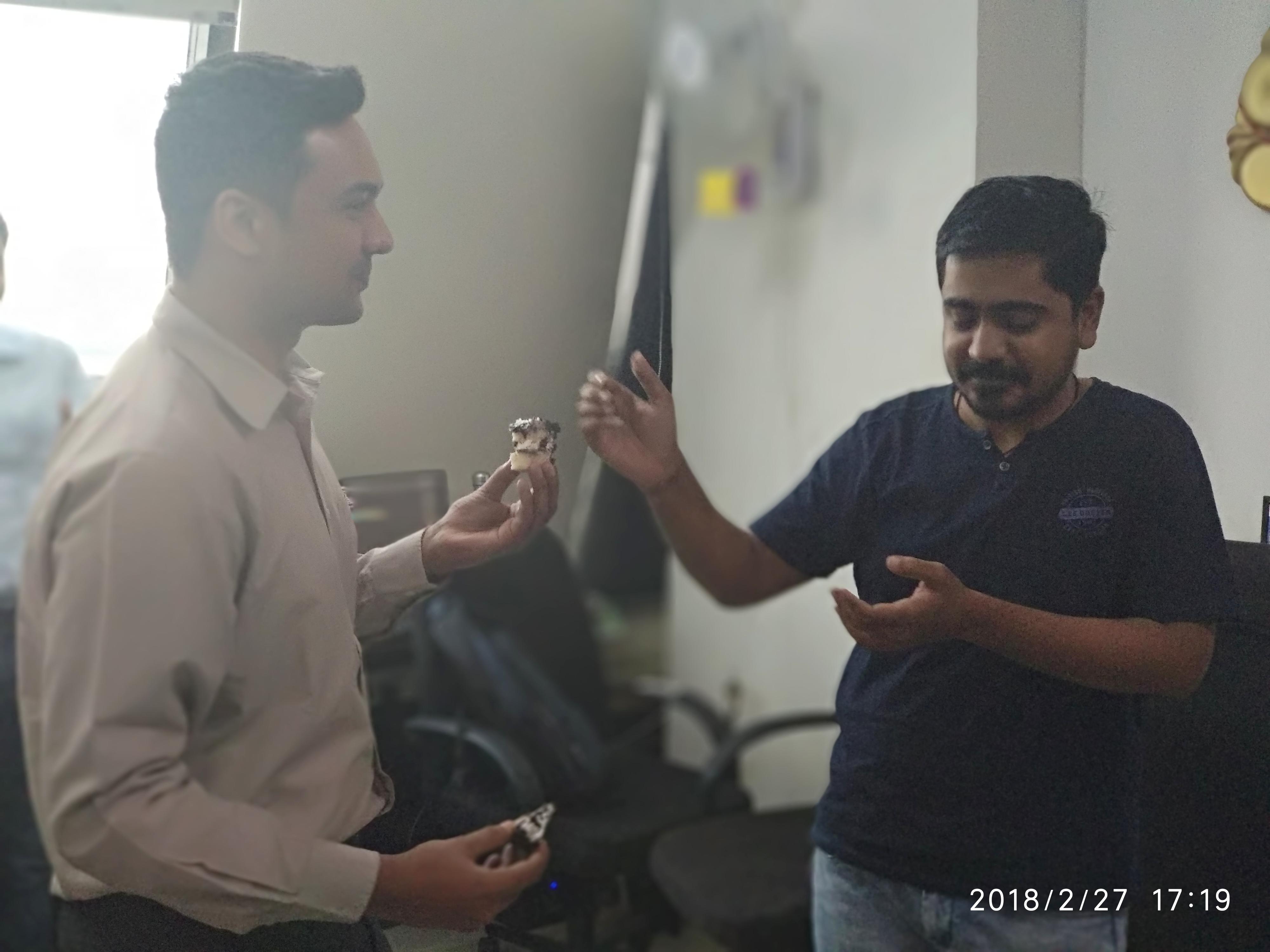 Kamleshbhai and nawazbhai
