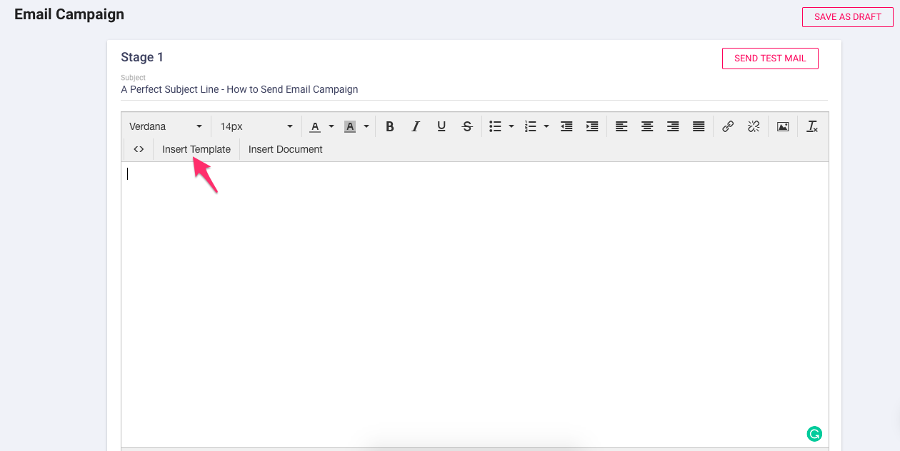 Send email campaigns