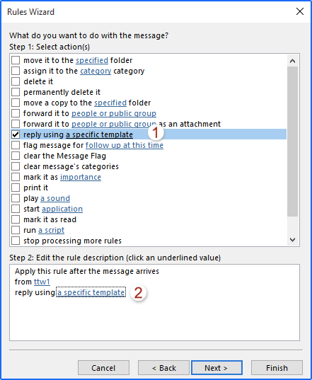 How to set up an autoresponder in Microsoft Outlook