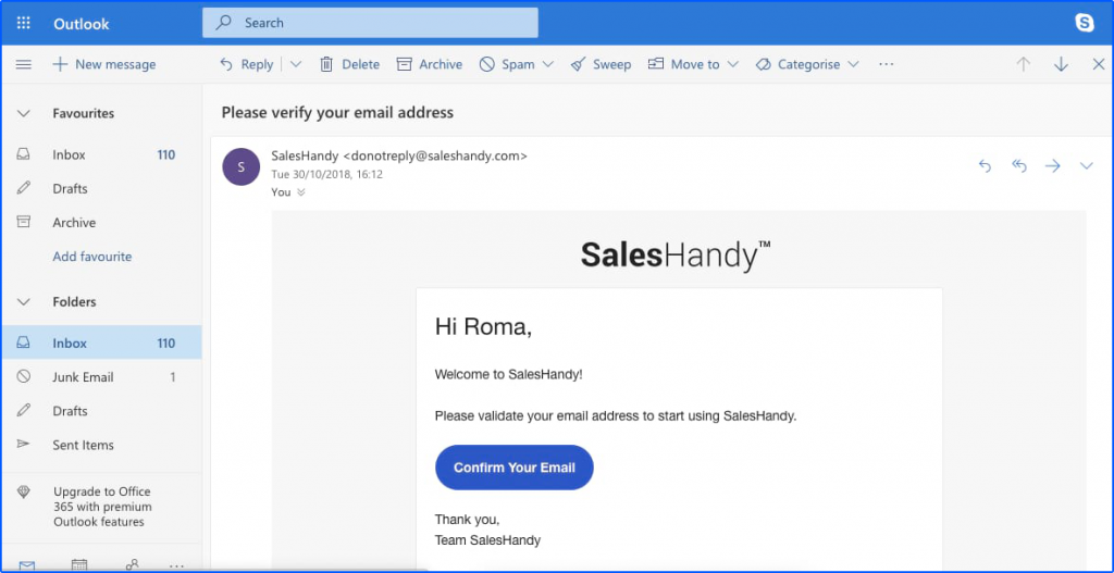 How to Send Automatic Emails in Outlook   SalesHandy