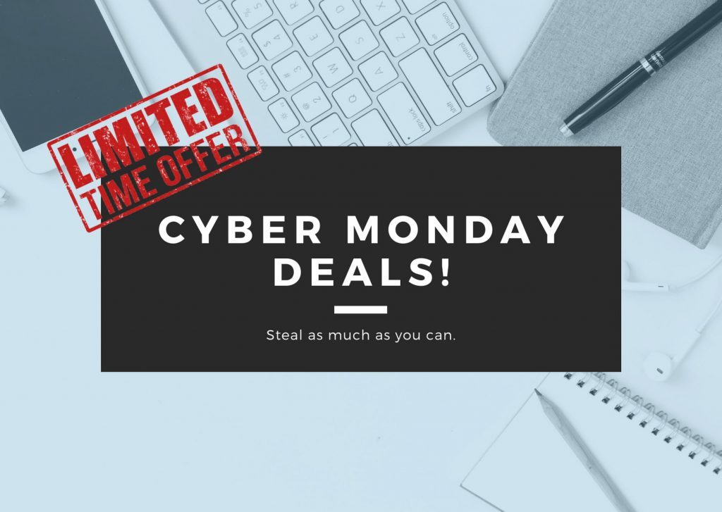 Cyber Monday Software Deals in 2020