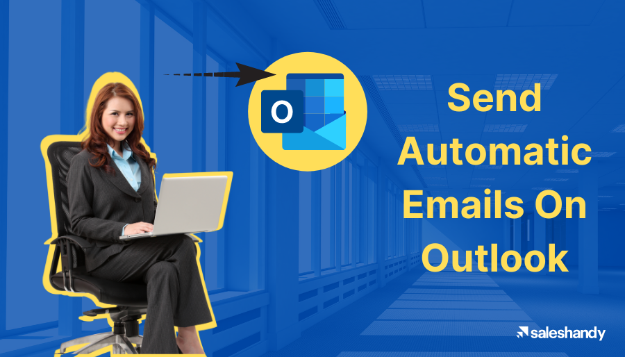 how to send automatic emails on outlook