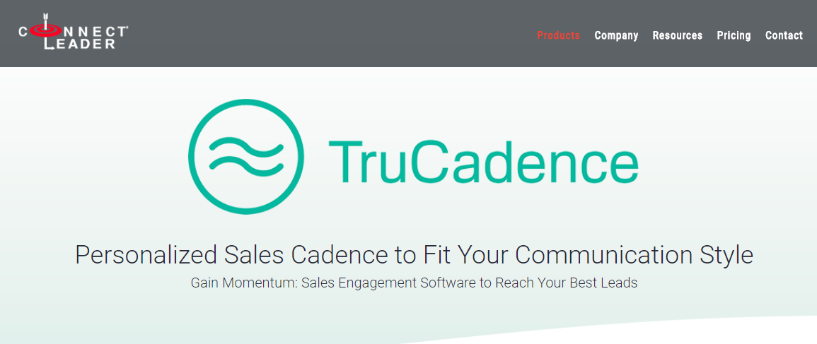sales acceleration software trucadence