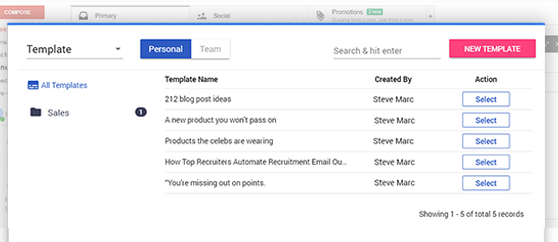 free email tracking email templates