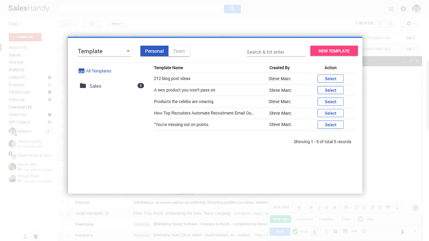 Gmail Email Templates With Attachments Saleshandy