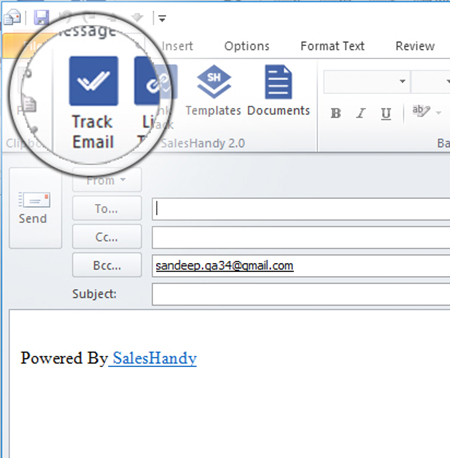 Outlook read receipt tracking
